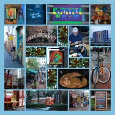 A day in New Orleans. 21 images fit neatly onto this cropdog.com page pattern.