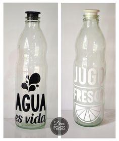 botellas de vidrio de agua - Buscar con Google