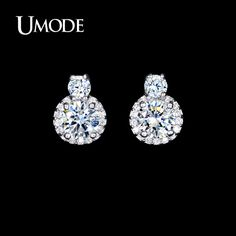 Like and Share if you want this  UMODE Wholesale Women's Fashion Jewelry Stores Rhodium plated Post Earings With Clear AAA+ CZ  Stud Earrings AUE0095     Tag a friend who would love this!     FREE Shipping Worldwide     Get it here ---> http://jewelry-steals.com/products/umode-wholesale-womens-fashion-jewelry-stores-rhodium-plated-post-earings-with-clear-aaa-cz-stud-earrings-aue0095/    #bracelet