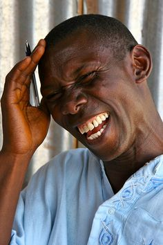 A Genuine Smile - photo by Ferdinand Reus