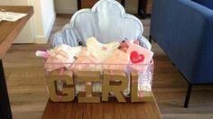 #babyshower #girl #idea #pink #ettenleur #party #makeityourself