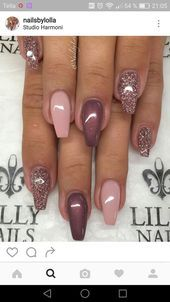 Nails gel, we adopt or not? - My Nails Classy Nails, Fancy Nails, Trendy Nails, Pink Nails, Cute Nails, My Nails, Fantastic Nails, Fabulous Nails, Gorgeous Nails