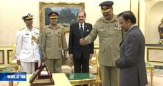 Audience Ceremony with Chairman Joint Chiefs of Staff Committee, Pakistan Armed Forces - Info