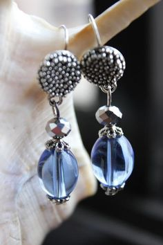 bombaybead | Products | Earrings | Pretty Raindrops Earrings