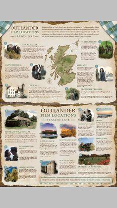 Outlander film locations season one: deze had ik bij naar onze reis naar Schotland: 2 locaties bezocht: Doune Castle en Culross in Fife