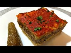 Moussaka This Recipe will make you forget about meat Meatloaf, Healthy Cooking, Youtube, Recipes, Food, Recipies, Essen, Meals, Ripped Recipes