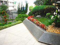 jardim do edifício