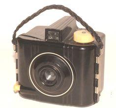 KODAK BABY BROWNIE SPECIAL 1936-1942- ANTIQUE ART DECO BAKELITE CAMERA #Kodak