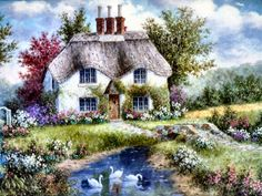 Swan Creek Cottage ~ Dennis Patrick Lewan