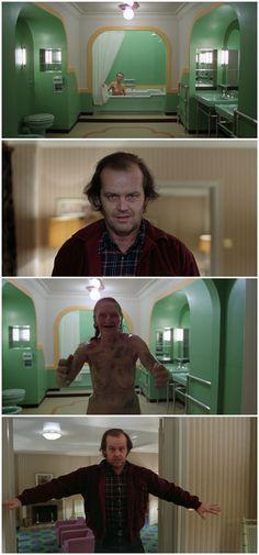 Jack is afraid The Shining (1980) - Stanley Kubrick Jack Nicholson