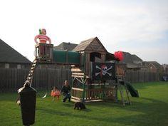 Swingset Pirate Decorations