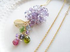 紫陽花の首飾り『貴船』