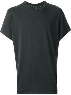HAIDER ACKERMANN Printed Back T-Shirt. #haiderackermann #cloth #t-shirt
