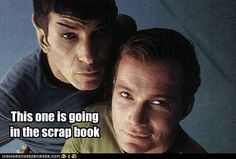 spock's scrapbook would be the best