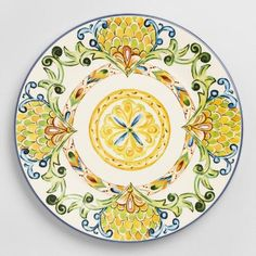 One of my favorite discoveries at WorldMarket.com: Peacock Dinner Plates, Set of 6