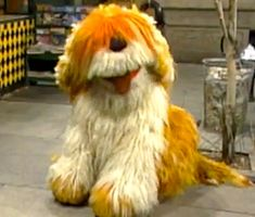 Barkley from Sesame Street. When I was really young I thought his name was Broccoli.