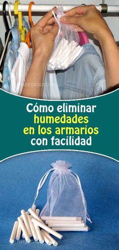 Cómo eliminar humedades en los armarios con facilidad #armarios #cajones #humedad #moho #malosolores #eliminar #trucos #tizas