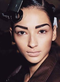 Strong eyebrows