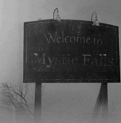 It's Mystic Falls nothing bad every happens here.