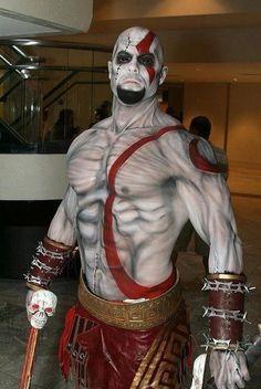 Kratos cos-play