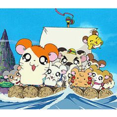 Hamtaro Remember This Show Cartoon Art Styles Anime Toon
