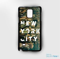 new york from above for Samsung Galaxy Note 2/Note 3/Note 4/Note 5/Note Edge phonecases