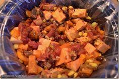 Smoky Slow Cooker Black Bean and Sweet Potato Chili