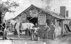 Print details report for Blacksmith Forge, Sheffield England, Main Street, Blacksmithing, Old And New, Maine, Moose Art, Nostalgia, History