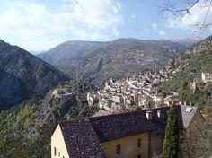 Train des Merveilles: Saorge Village from the Monastery