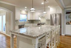 Use Alaska White Granite In A Variety Of Design Styles