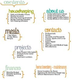 Home Management Binder + Home Inventory {3 printables} + Last Workshop for New Beginnings