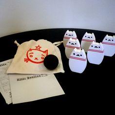 Kitty Bowling Game Set