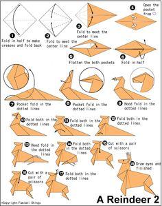 Origami Deer instructions