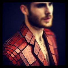 wood suit.... like a boss
