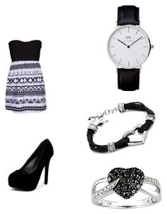 """night out"" by johanne-jc on Polyvore featuring Hurley, Qupid and Ice"