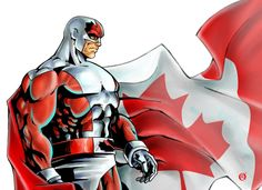 It's 1993, Canada has become the most powerful country in the world, and their fair land is protected by the red and white spandex of Captain Canuck. It's a world far different from our own, but the good Captain might be coming to save us from the repetition of the same superheroes getting reboots and more movies. Creator of the popular indie comic Richard Comely is claiming that he's in talks with a Canadian production company to film a $15 million movie featuring the eh-grade super hero. Toronto-based Sinking Ship (which is a foreboding name if there ever was one) had the option up until last year, but according to the LA Times, it's unclear which production company Comely is in talks with. The prospect of seeing Captain Canuck anytime soon is a slim one, but it seems logical to assume that the character's continued appeal, coupled with the Captain America movie might have stoked the fires a bit. This news at least means that the character is one step closer (again) to hitting the big screen with his alien-granted powers. Although, it's important to note that the comic book creator sharing the news is the worst possible source, so until a production company comes out and waves their intentions proudly, it might just be Millar-style bluster. On the bright side, it would be nice to see a hero being extra polite while kicking ass.