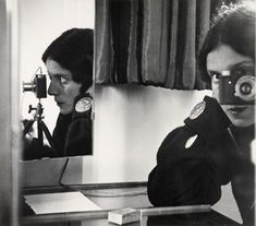 Famous Photographers' Self-Portraits in Mirrors