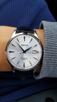 [SEIKO] Casual Saturday Morning...Love This Watch! http://ift.tt/2ywzoAu