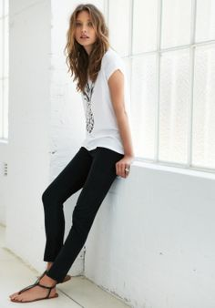 Cropped cords from Hush....I could roll mine up for a work summer look?