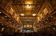 Inside Boston's Symphony Hall