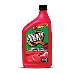 *5-star Customer Rating* Quaker State  Performance High Mileage Conventional Motor Oil is formulated to reduce friction in your engine even under severe driving conditions. #oil #cars #advanceautoparts http://shop.advanceautoparts.com/webapp/wcs/stores/servlet/product_defy-10w-30-high-mileage-conventional-motor-oil-(1-quart)-quaker-state_8050010-p