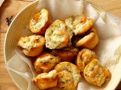 Get Shrimp Puffs Recipe from Food Network
