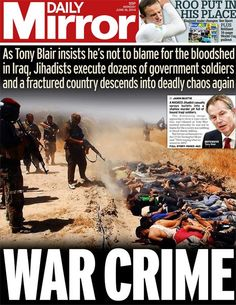 daily mirror newspaper coverage of the Iraq war - Google Search