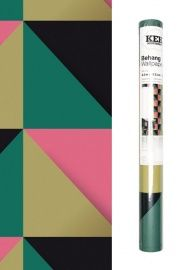 Behang grafische print | Behang te bestellen op www.desi-design.nl
