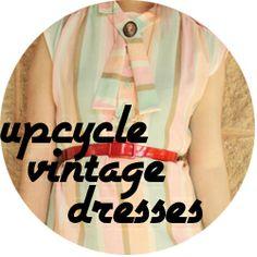 Vintage Dress Upcycle