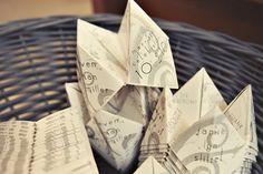 Creative Ceremony Programs Fortune Teller Wedding Programs – The Knot Unique Wedding Programs, Ceremony Programs, Wedding Stationary, Wedding Paper, Diy Wedding, Wedding Favors, Wedding Ideas, Wedding Stuff, Casual Wedding
