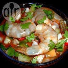 Ceviche de camarón @ allrecipes.com.mx