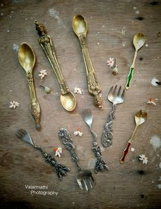 My vintage collection of forks&spoons