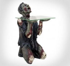 Zombie Slave Side Table - http://www.gadgets-magazine.com/zombie-slave-side-table/