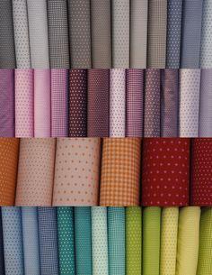 La nouvelle collection de tissus Frou-Frou : pois, étoiles, vichy | Mercerie Créative - Couture Facile I Paritys